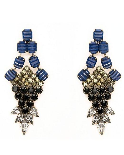 Nicole Romano | Blue Nove Earrings | Lyst