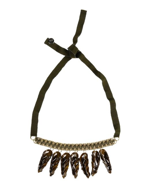 Matthew Williamson | Green Necklace | Lyst