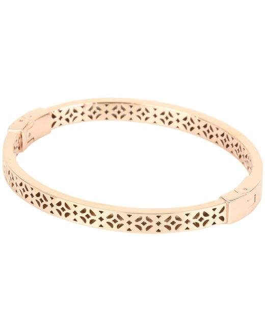 Fossil   Pink Iconic Signature Pattern Bracelet   Lyst