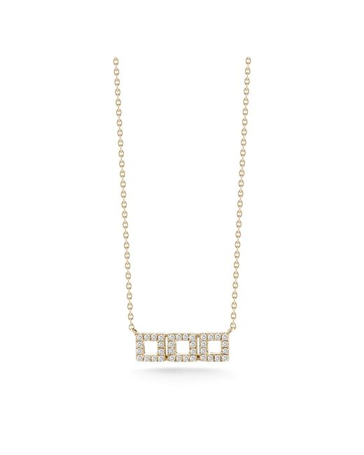 Dana Rebecca | Pink Allison Joy Diamond Necklace | Lyst