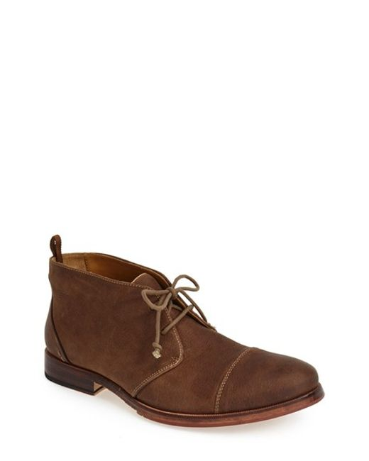 j shoes torre chukka boot in brown for taupe