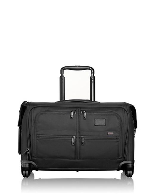 Tumi Alpha 2 Wheeled Carry On Garment Bag In Black For