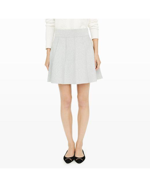 Club Monaco | Gray Carly Pleated Skirt | Lyst