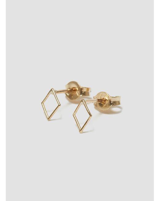 Grace Lee | Metallic Whimsy Earrings Diamond | Lyst