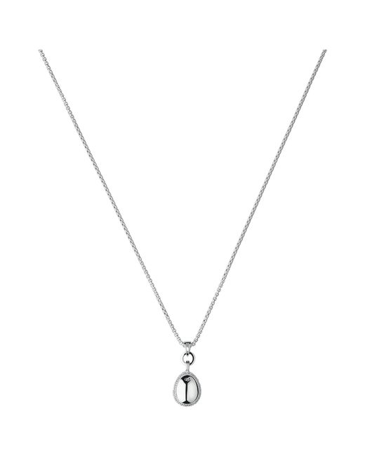 Links of London   Metallic Hope White Topaz Sterling Silver Pendant Necklace   Lyst