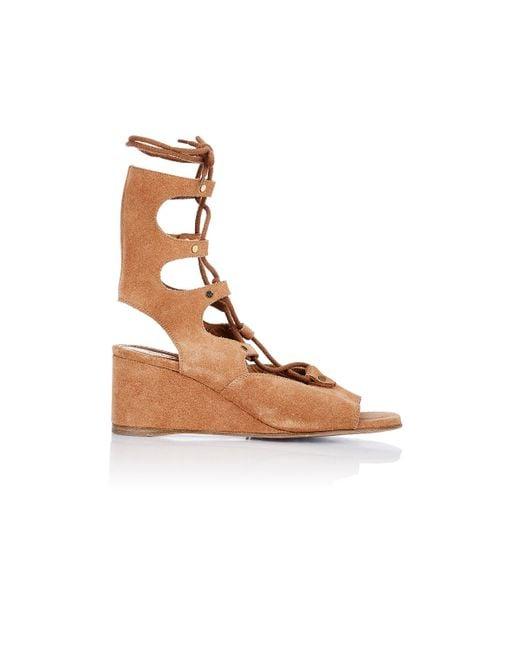 Chloé | Brown Women's Foster Gladiator Wedge Sandals | Lyst