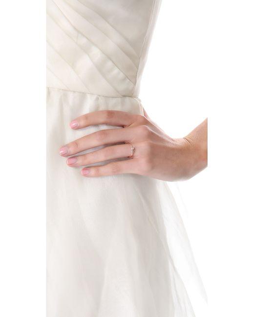 Blanca Monros Gomez | Pink White Diamond Ring | Lyst
