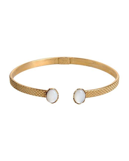 Ela Stone | White Bracelet | Lyst