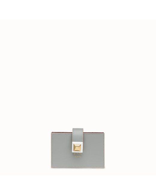 Fendi - Gray Card Holder Card Holder - Lyst