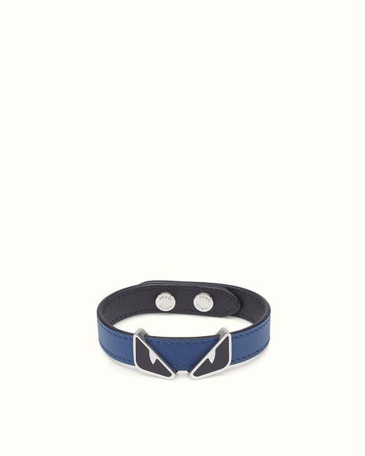 Fendi | Blue Bracelet Bracelet for Men | Lyst