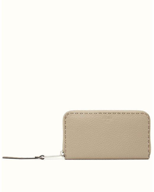 Fendi | Natural Wallet Wallet | Lyst