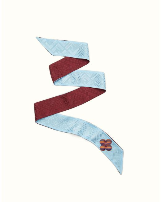 Fendi   Blue Color-block Wrappy Color-block Wrappy   Lyst