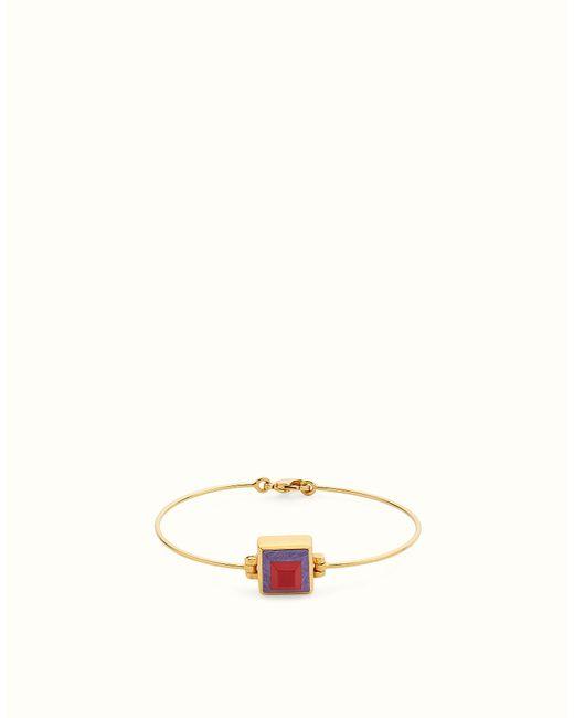 Fendi | White Bracelet Bracelet | Lyst
