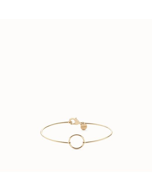 Fendi - Metallic Abchic Bracelet - Lyst