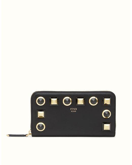 Fendi | Black Wallet Wallet | Lyst