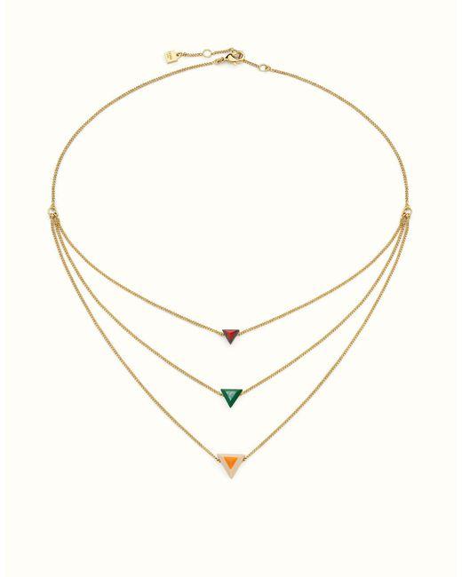 Fendi | Multicolor Rainbow Necklace Rainbow Necklace | Lyst