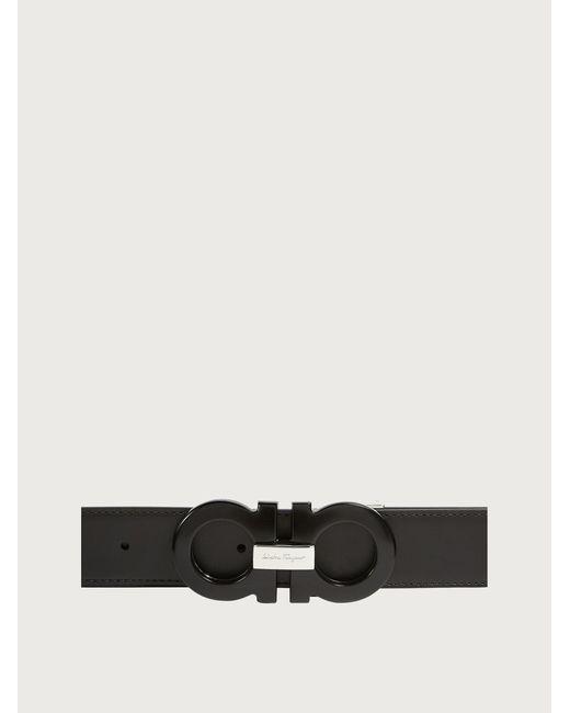 Uomo Fibbia intercambiabile Gancini Switch di Ferragamo in Black da Uomo