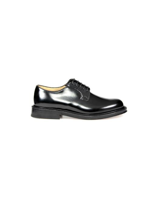 Church's Black Shannon Lace Up for men