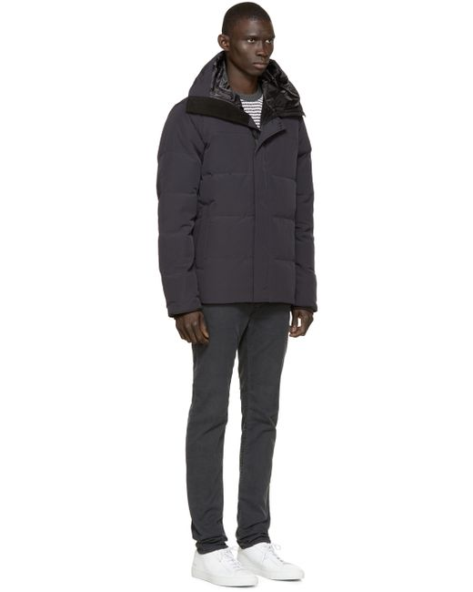 Canada Goose womens online cheap - Canada goose Navy Black Label Macmillan Parka in Blue for Men ...