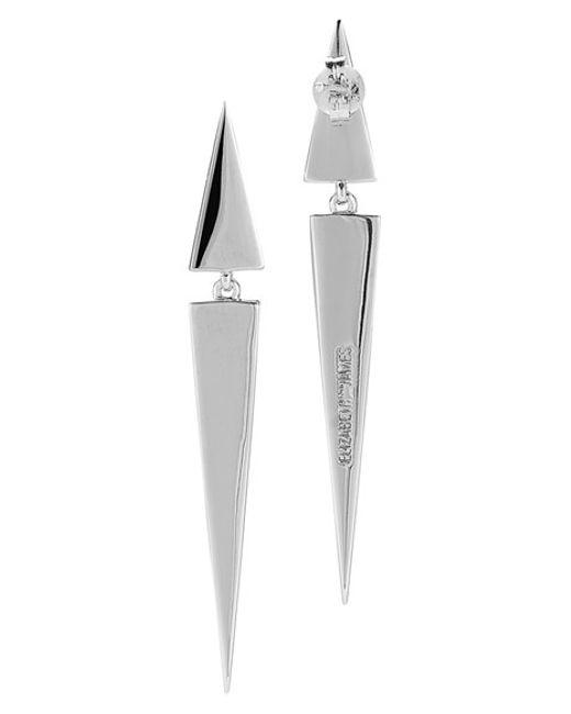 Elizabeth and James   Metallic 'itten' Linear Earrings   Lyst