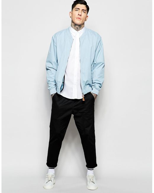 Mens Blue Bomber Jacket Photo Album - The Fashions Of Paradise