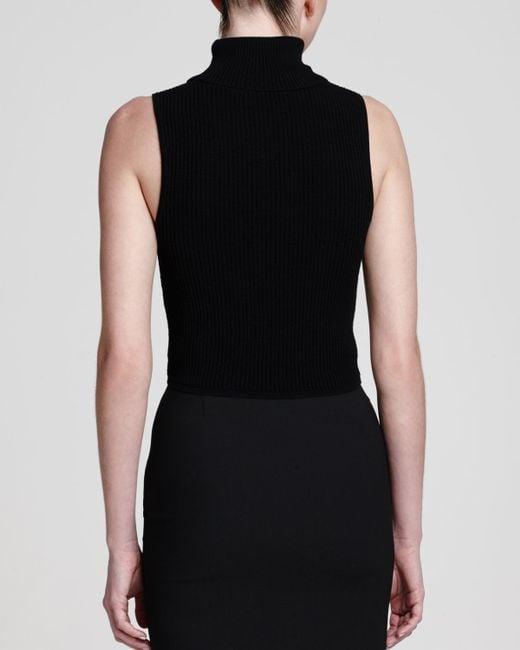 Black Sleeveless Sweater 95
