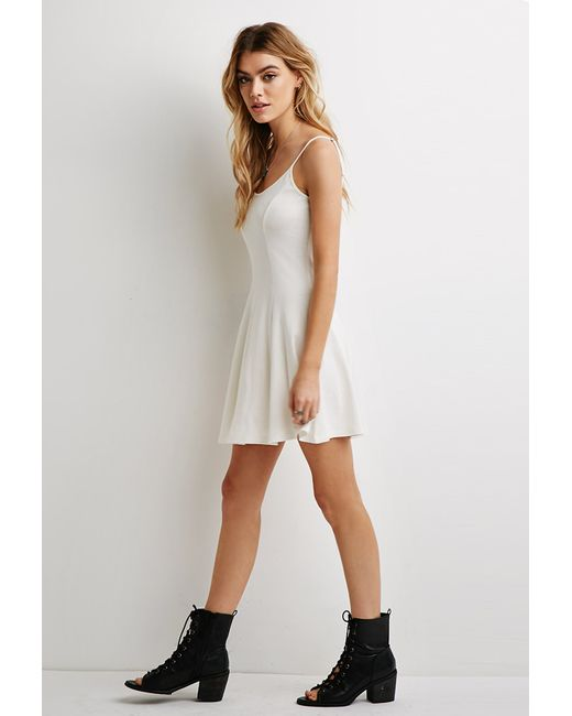 Forever 21 | Natural A-line Cami Dress | Lyst