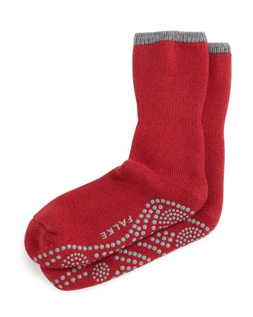 Falke | Red Cuddle Pad Socks for Men | Lyst