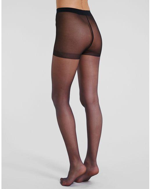 Golden Lady Medium Black 10 Denier Elegance 10 Ultra Sheer Glossy Tights