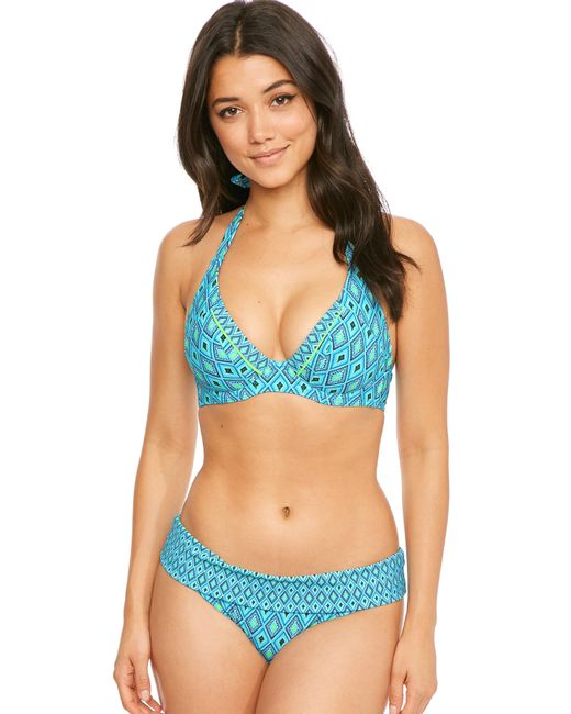 Curvy Kate - Blue Revive Halterneck Bikini Top - Lyst
