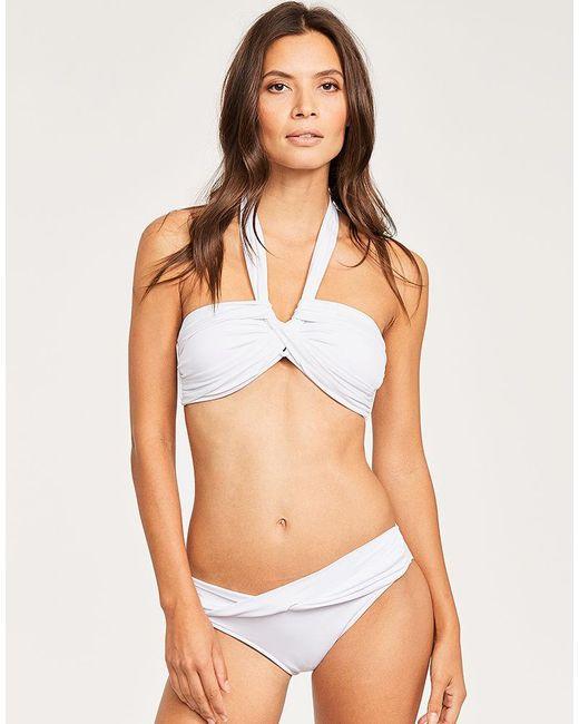 c543ec1b7d1 Women's White Bandeau Bikini Top