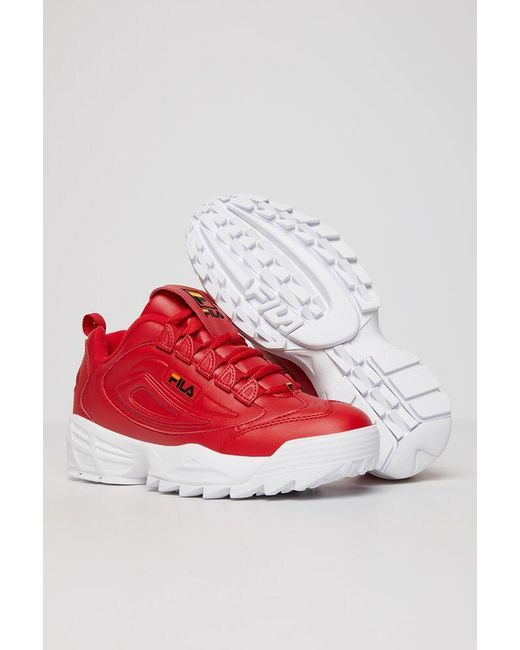 Fila Synthetic Men's Disruptor 3 in Red