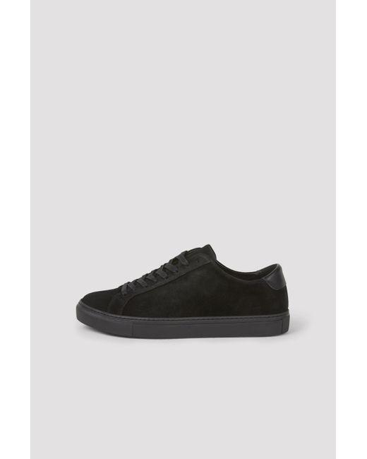 Filippa K Black Morgan Sneaker for men