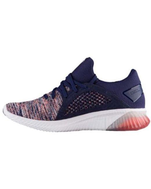 ASICSGEL-KENUN - Neutral running shoes - begonia pink/indigo blue/white Qv6x5pSH