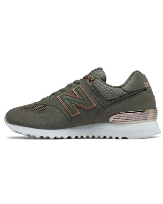 best service 2775d de988 Women's Green 574 All Day Rose Classic Casual Sneakers, Olive