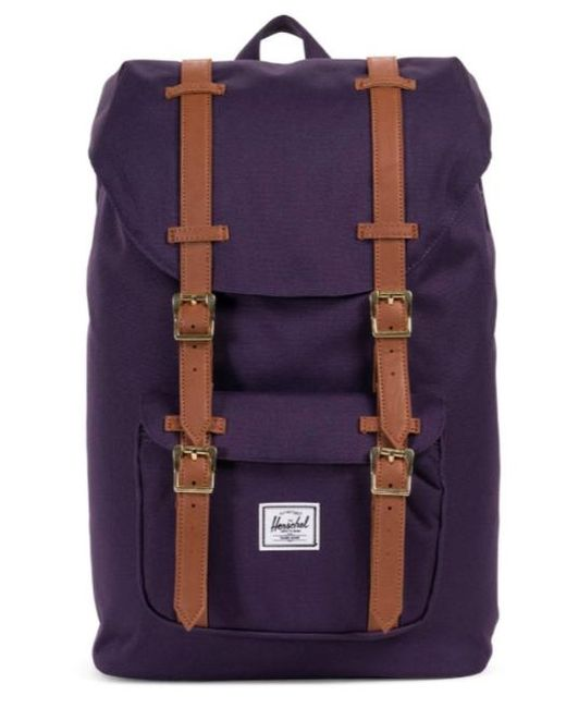 Lyst - Herschel Supply Co. Little America Mid-volume Backpack ... 3611271c4e60d