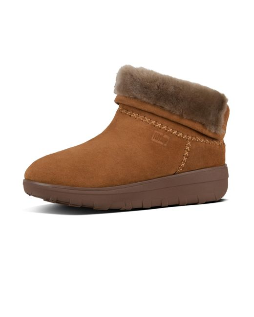 8af0b1c0dcb47e Fitflop - Brown Mukluk Shorty Ii - Lyst ...