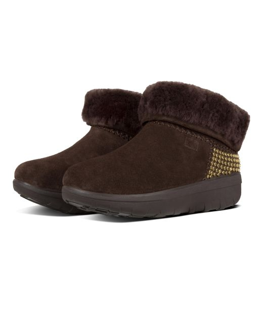 3a452fa26283f7 ... Fitflop - Brown Mukluk Shorty Ii - Lyst