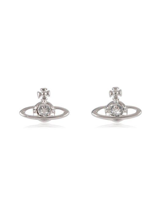 Vivienne Westwood - Metallic Solitaire Earrings - Lyst