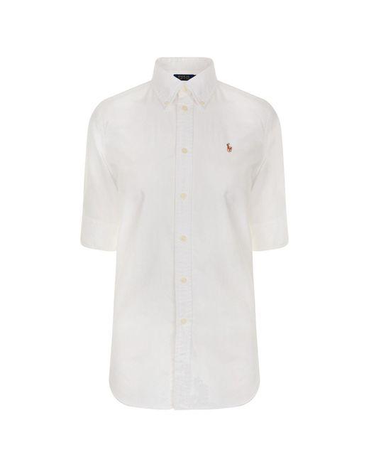 Polo Ralph Lauren - White Jenny Shirt - Lyst