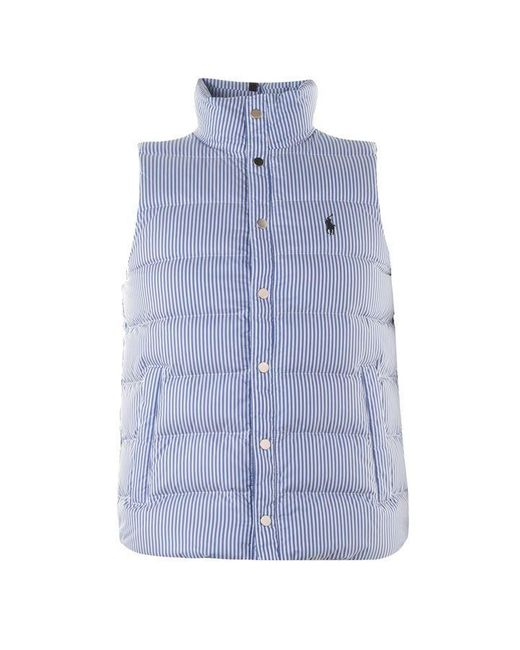 Polo Ralph Lauren Blue Polo Downfill Vest Sn92 for men