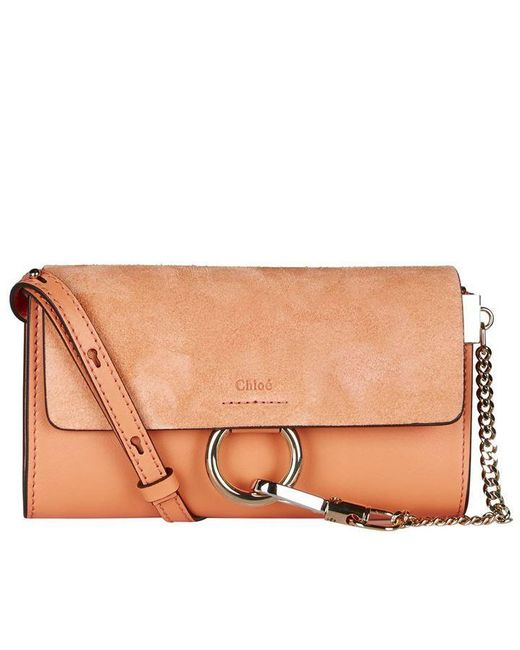 Chloé Brown Faye Shoulder Strap Bag