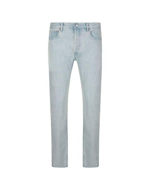 A.P.C. - Blue Petite New Standard Jeans for Men - Lyst