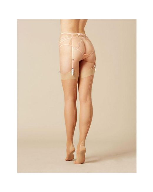 Agent Provocateur Natural Opale Stockings