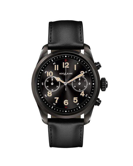 Montblanc Black Summit 2 Steel Watch for men