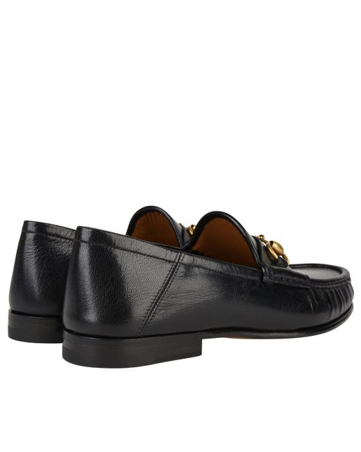 a27ffdec41c6 Lyst - Gucci Easy Roos Loafers in Black for Men - Save 18%