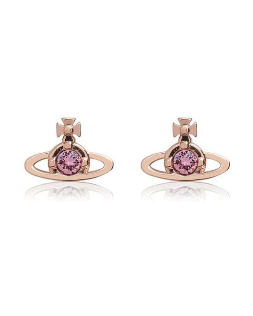 Vivienne Westwood Multicolor Solitaire Earrings