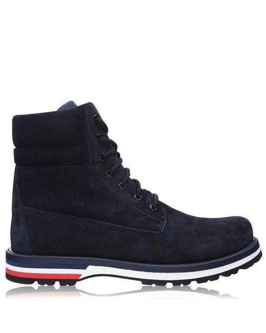 Moncler Blue Rugged Boots for men