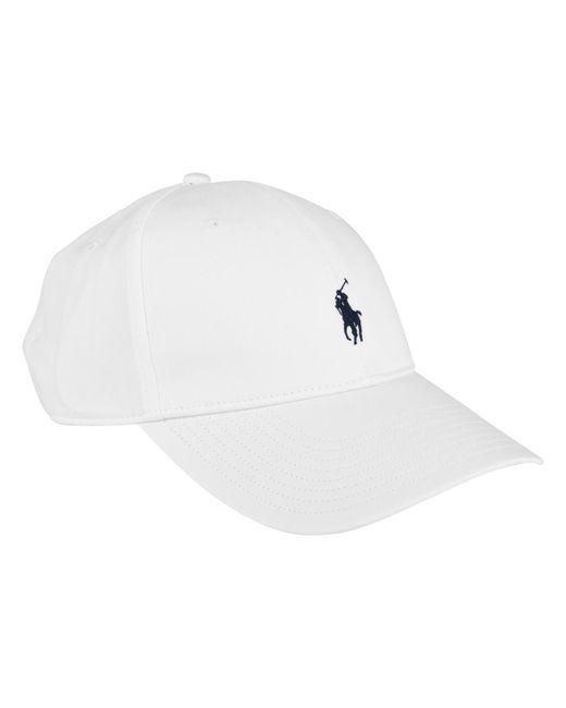 e2cb91a1491 Polo Ralph Lauren - White Logo Cap for Men - Lyst ...