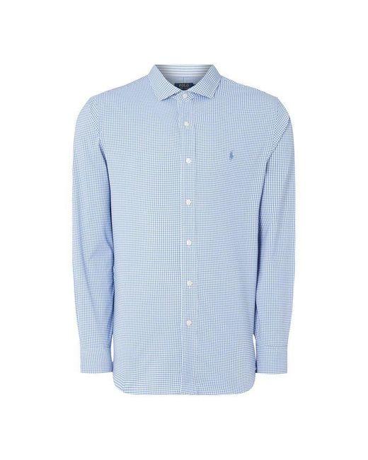 Polo Ralph Lauren Blue Polo Oxford Spread Shrt Sn93 for men